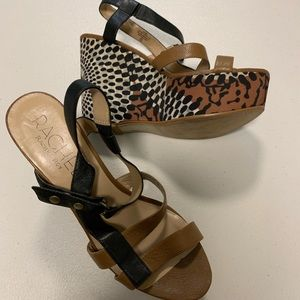 Rachel Roy Platform Wedge Sandals
